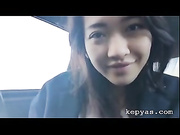 Pretty pinay masturbate in taxi
